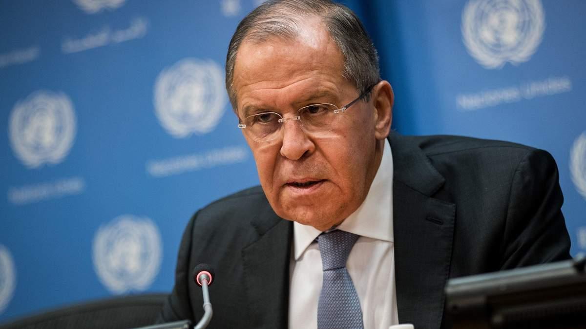 Сергій Лавров подав у відставку з поста глави МЗС