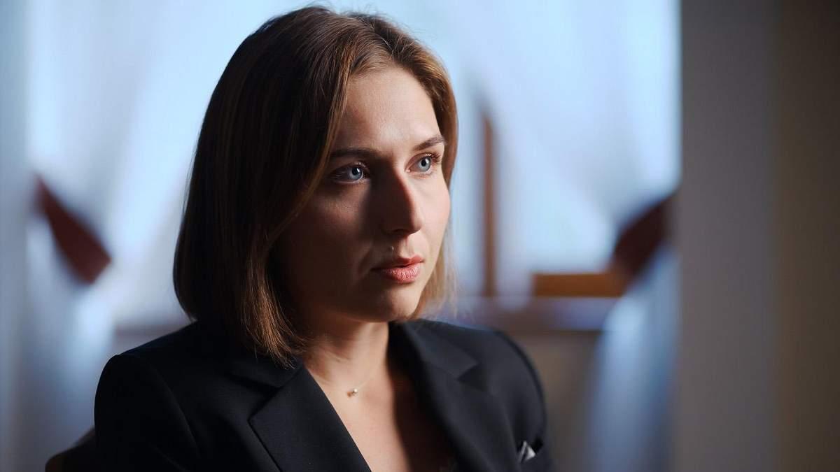 Министер образования Украины Анна Новосад