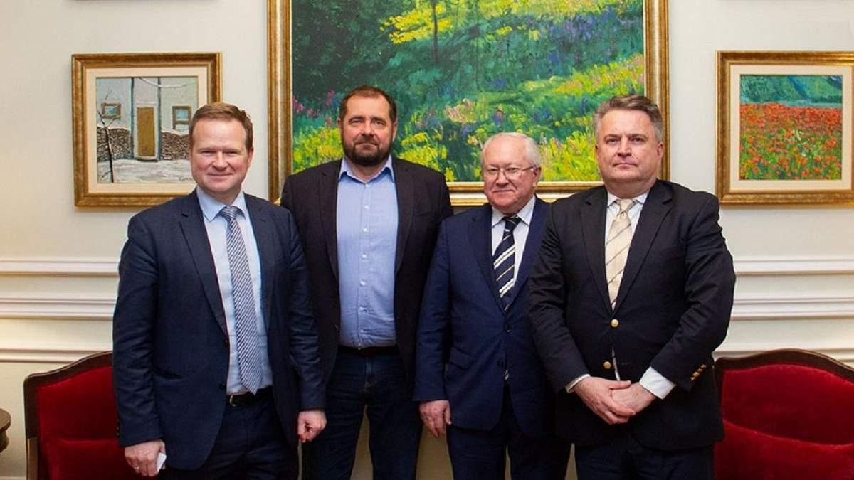 Кислиця обговорив з представниками ПАРЄ повернення української делегації