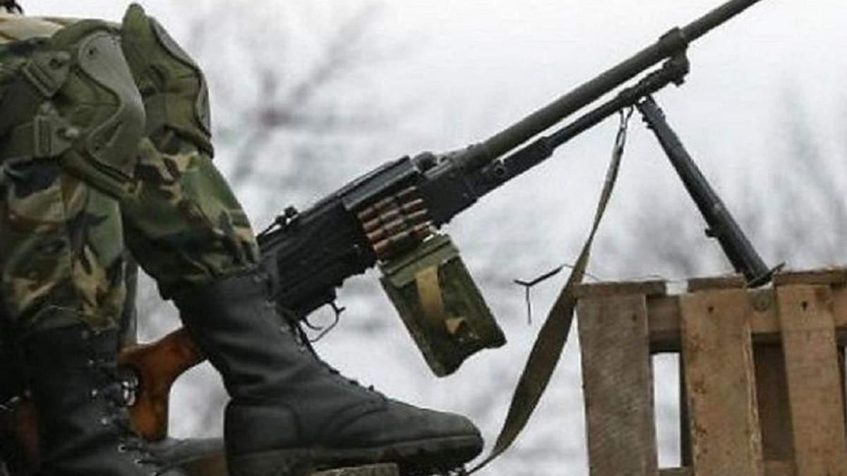 Ситуация на Донбассе: боевики били из запрещенного оружия