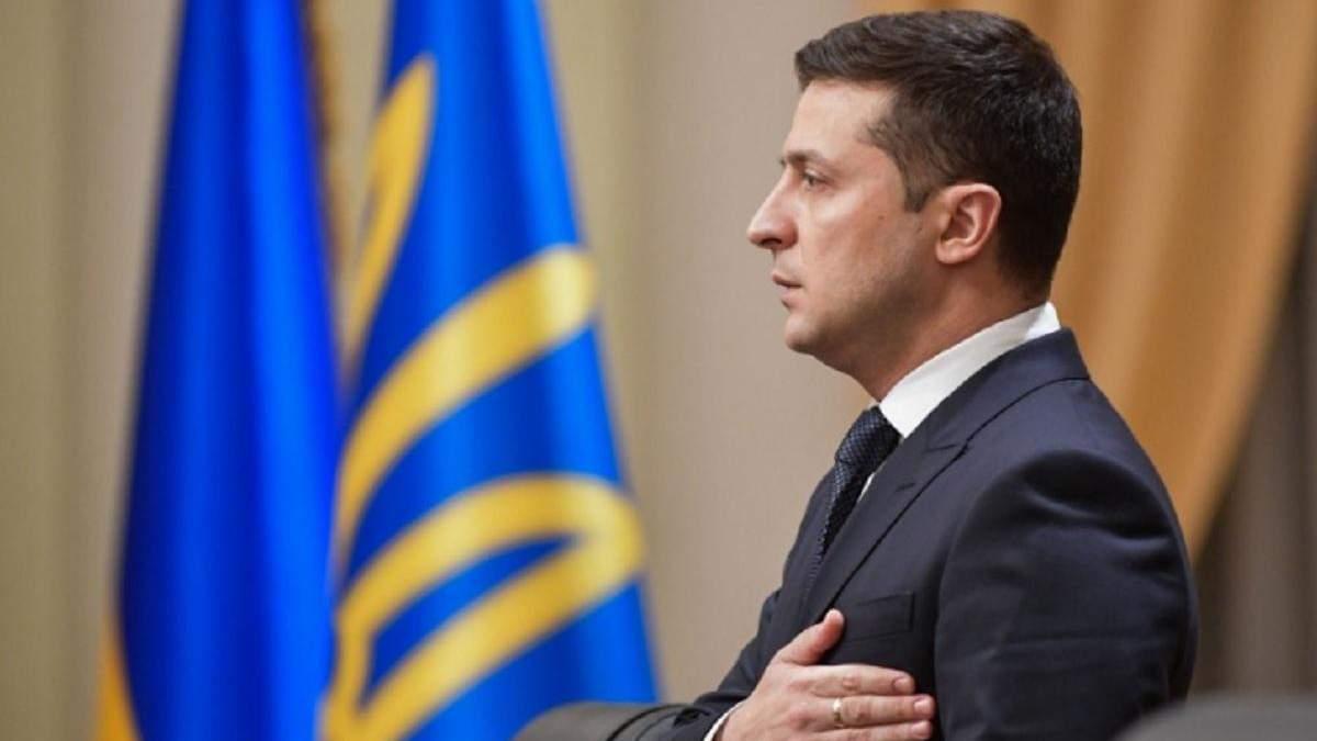 Зеленський звернувся до українців з нагоди Дня соборності