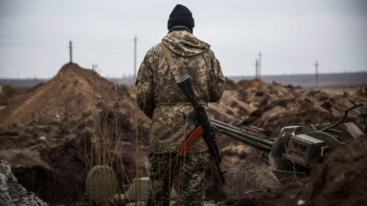 Военные с передовой поздравили украинцев с Днем соборности