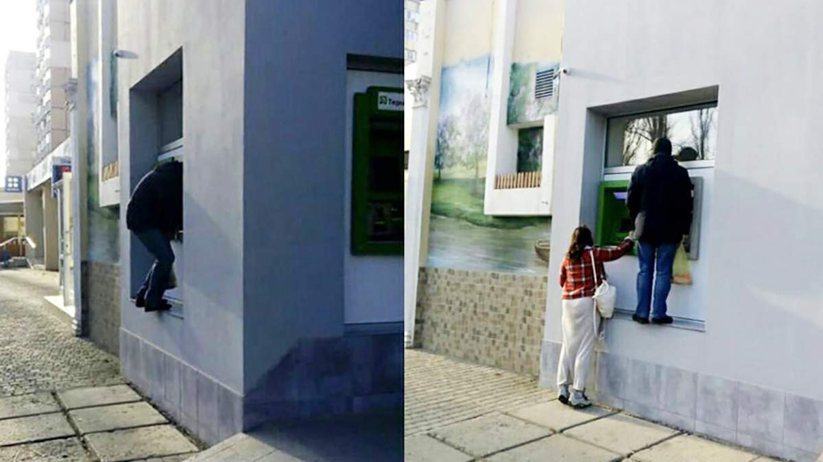 Банкомат только для высоких людей установили в Одессе: фото