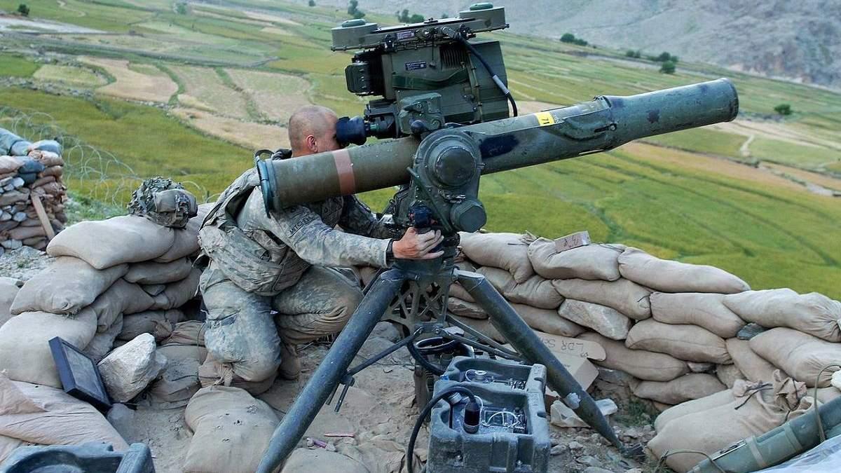 Бойовики обстріляли захисників Опитного з протитанкового ракетного комплексу