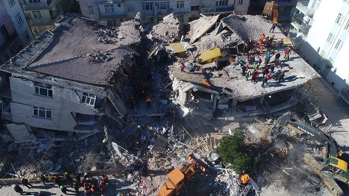 Во время землетрясения в Турции 24 января украинцы не пострадали