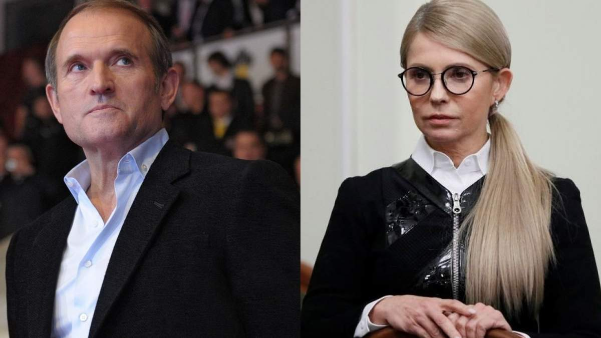 Новий політичний шлюб: Тимошенко та Медведчук об'єднуються для усунення Зеленського