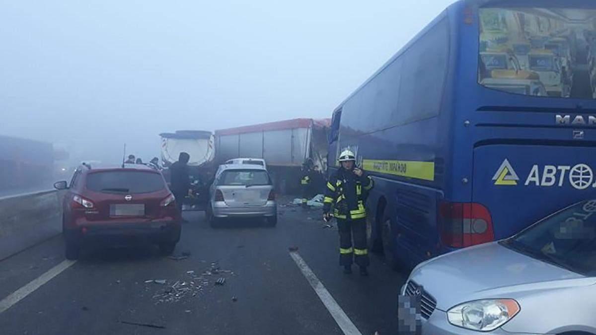 ДТП Одеса – Київ сьогодні, 27.01.2020 – фото