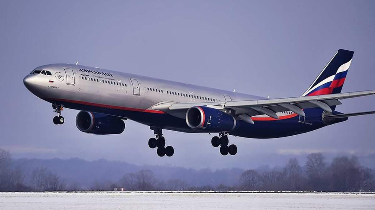 В России сообщили о взрывчатке на борту самолета