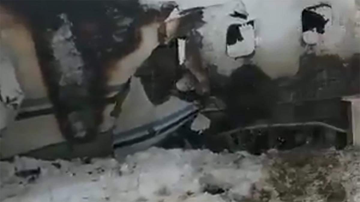 Авіакатастрофа в Афганістані 27.01.2020: відео літака, який горить