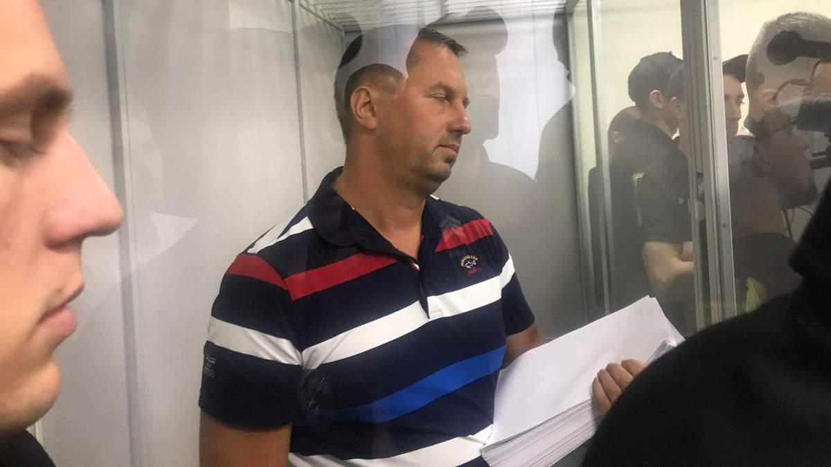 Дмитрий Головин в зале суда