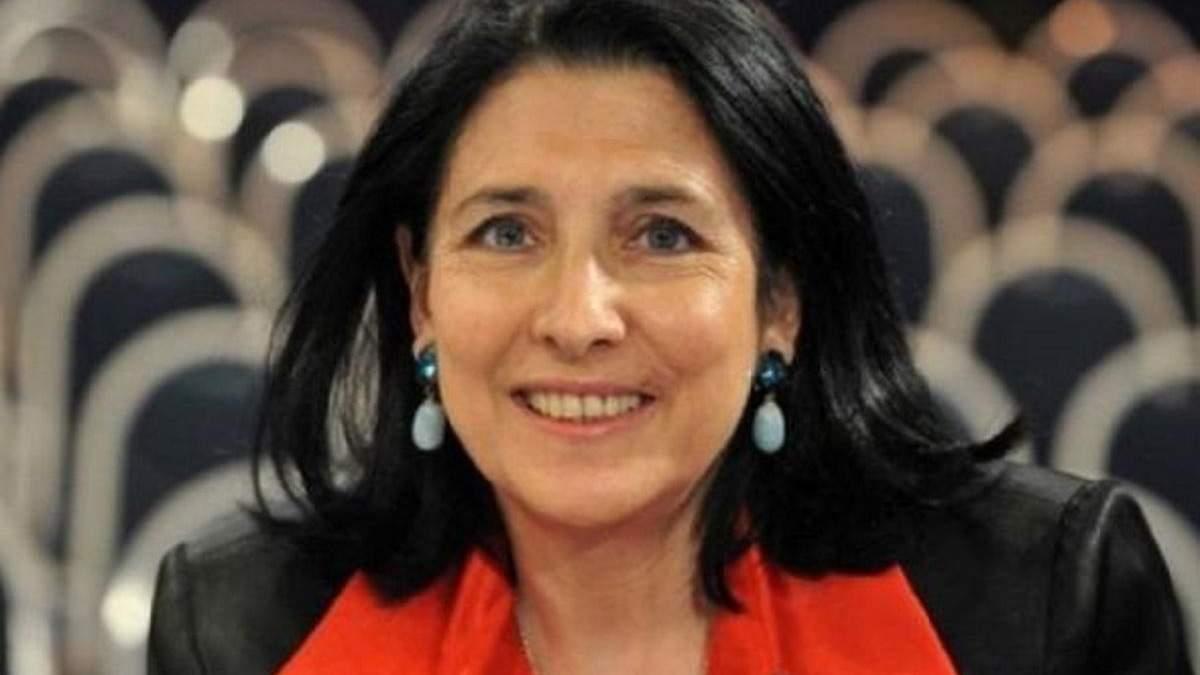 Президентка Грузії не наважилася підтримати санкції проти Росії