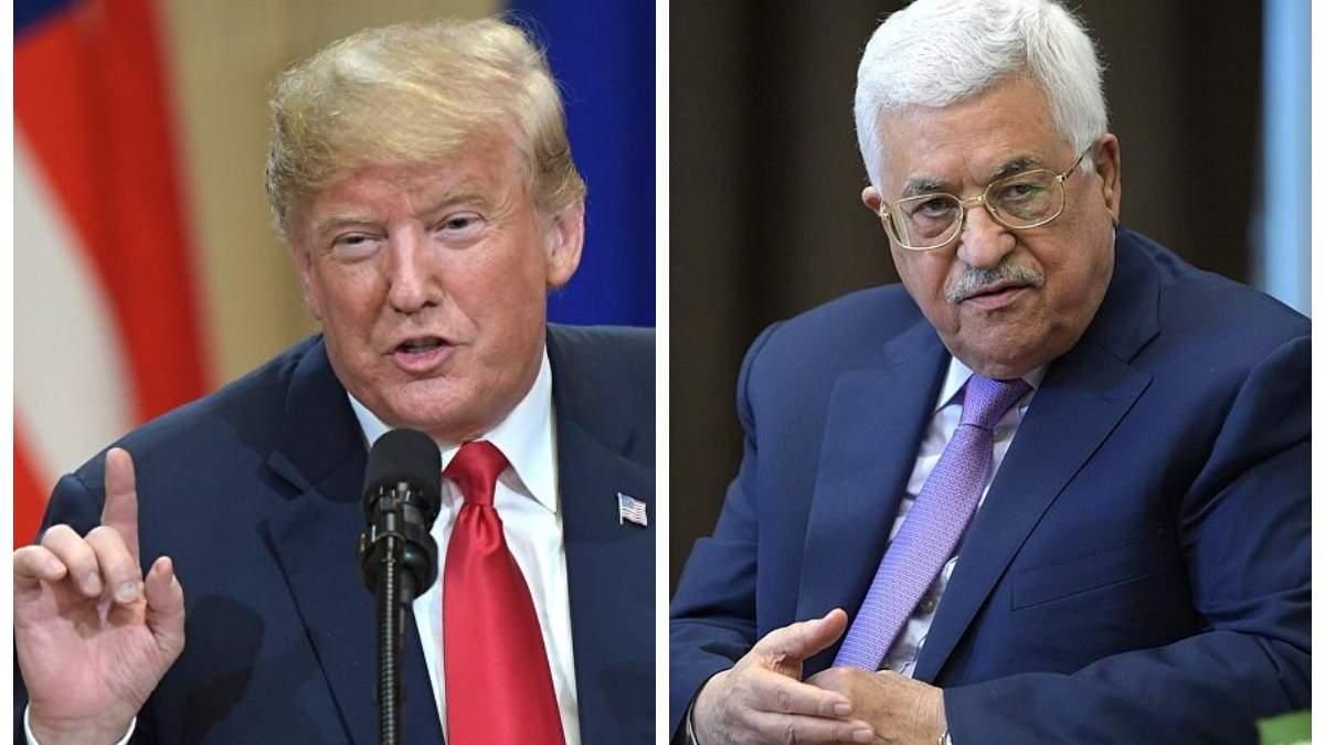 """Палестина категорически отказалась от """"сделки века"""" Трампа"""