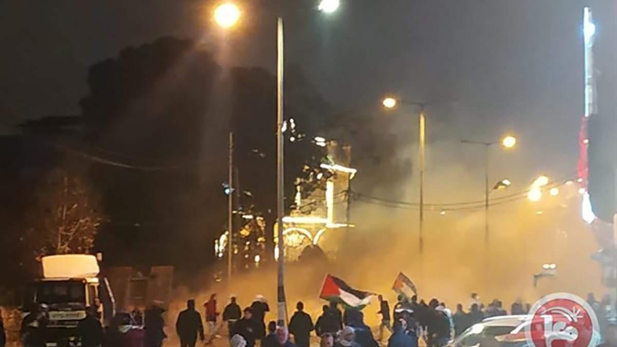 Протесты в Иерусалиме