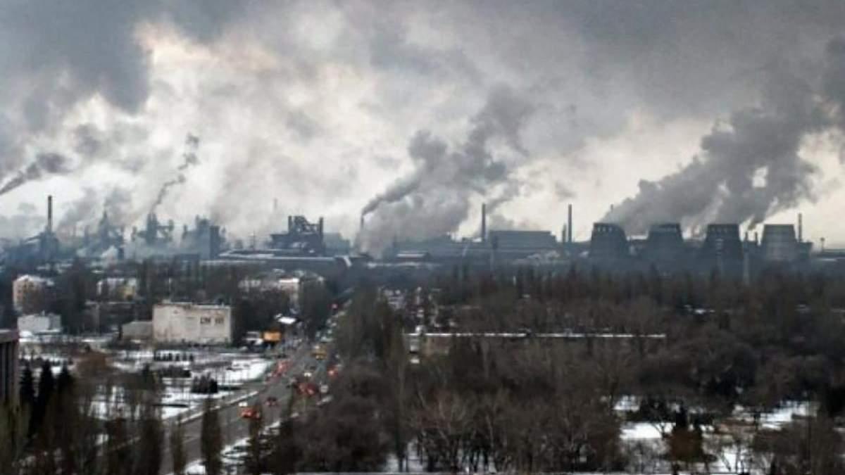 В Кривом Роге будут контролировать выбросы в атмосферу