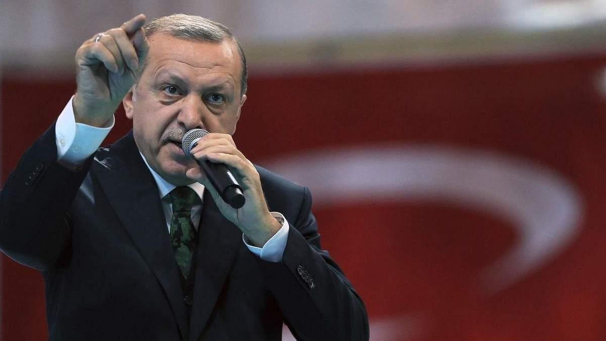 Эрдоган прокомментировал невыполнение Россией договоренностей
