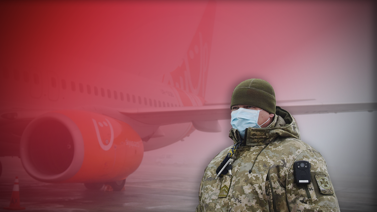 Коронавирус в Борисполе, Украина – как проверяют пассажиров с Китая