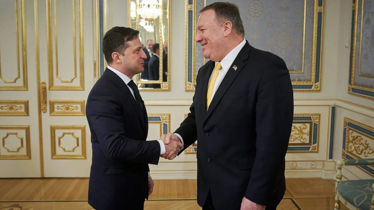 Зустріч Зеленського і Помпео 31 січня 2020 – про що говорили
