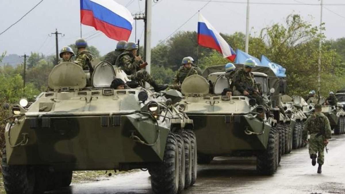 Боевики держат на Донбассе тяжелую вооруженную технику