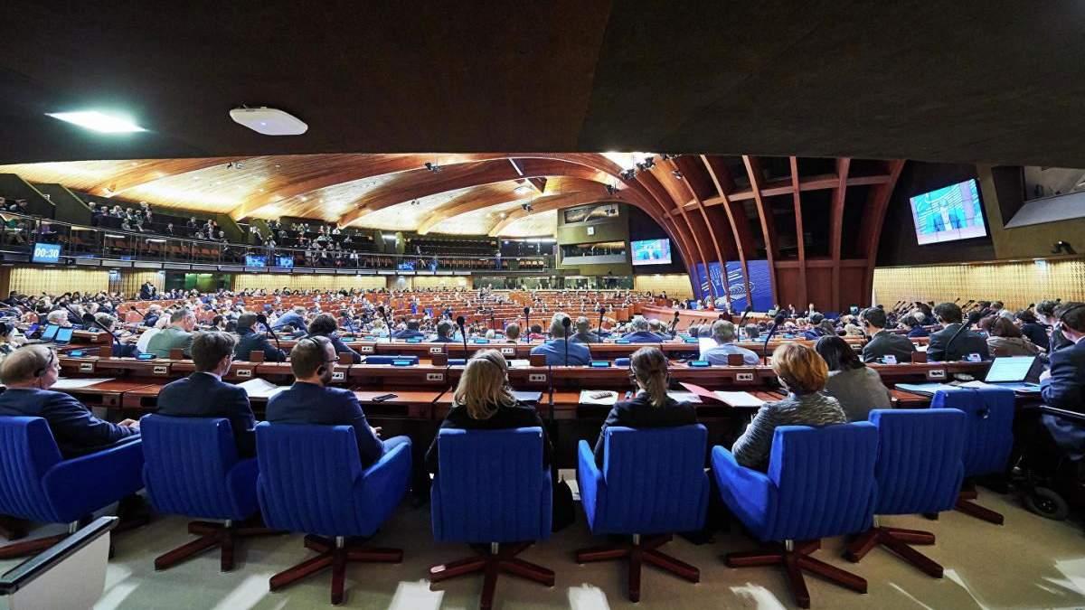 Россия в ПАСЕ хочет исключить привлечение к ответственности стран-нарушителей правил СЕ