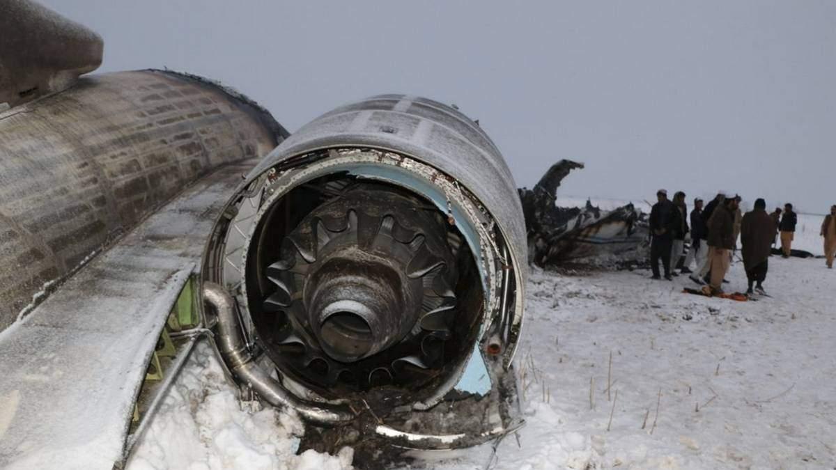 Авіакатастрофа в Афганістані: чиновники назвали причину падіння літака