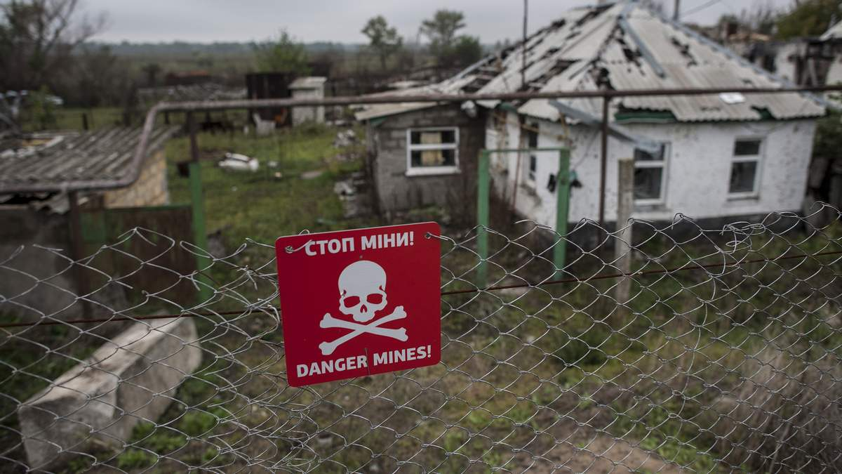 Украина в ОБСЕ рассказала о российских противопехотных минах на Донбассе