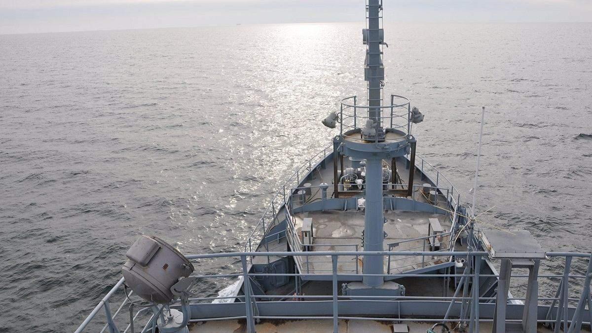 Майбутній корабель ВМС вийшов у море