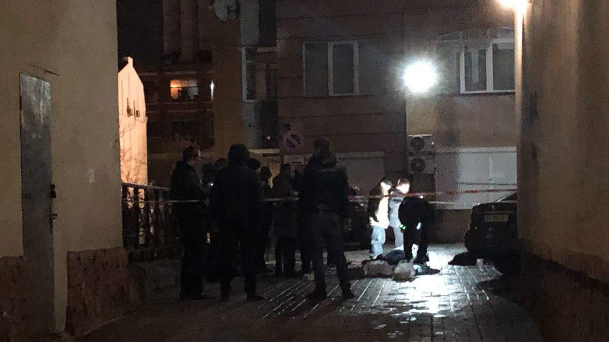 Місце вбивства Андрій Сотника у Києві