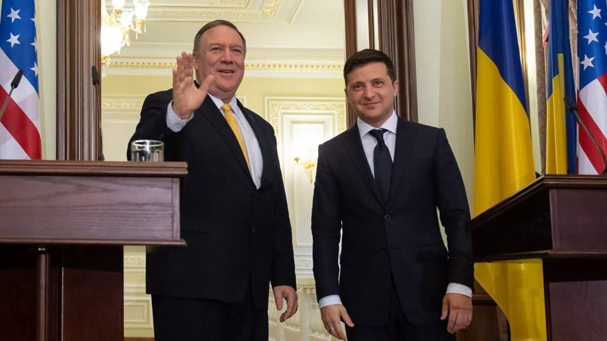 Зустріч Зеленського та Помпео відбулся 31 січня у Києві