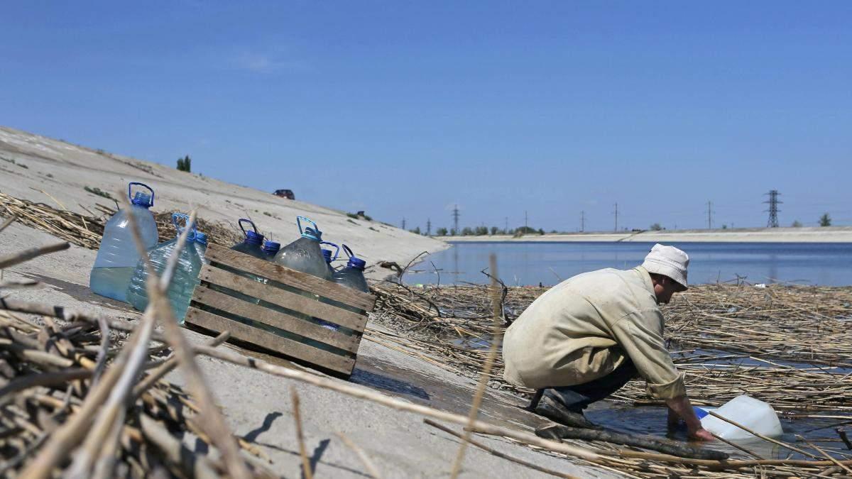 Питної води в Криму вистачить на 100 днів