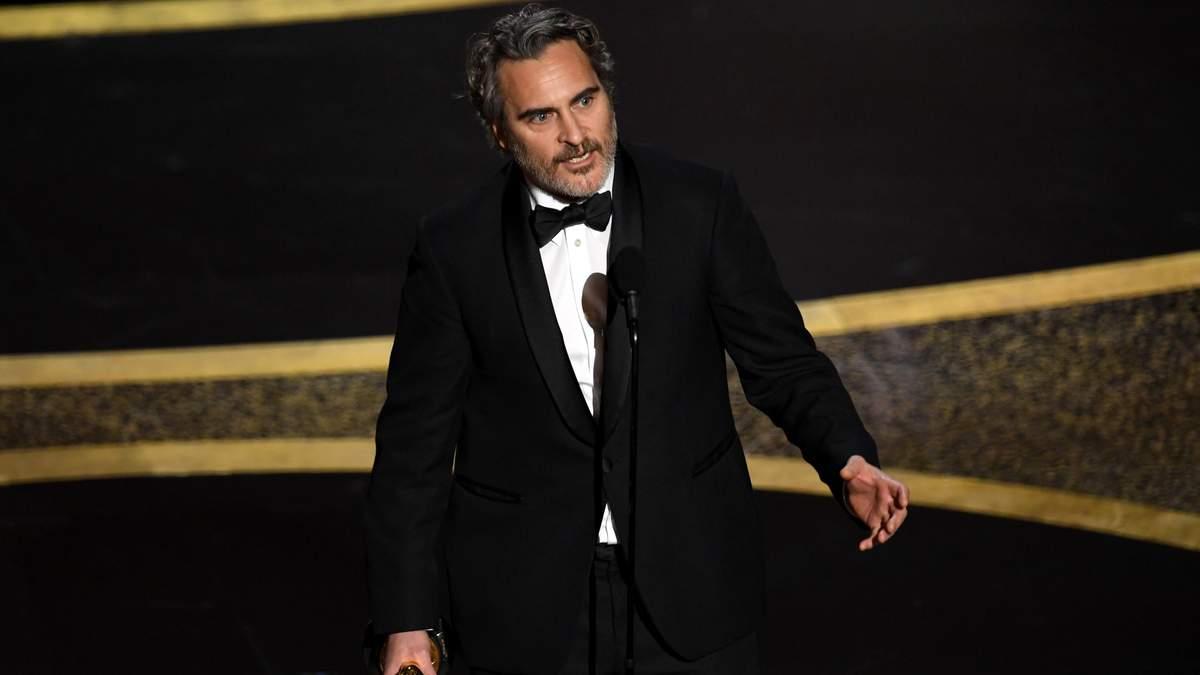 Хоакин Феникс на Оскар 2020 – номинация Лучшая мужская роль