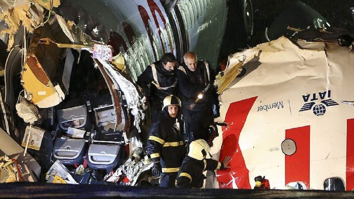 У Стамбулі літак викотився за ЗПС – відео 05.02.2020