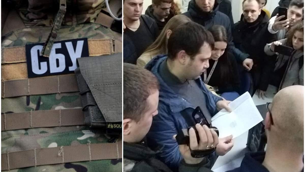 Обыск на 1+1 – СБУ 05.02.2020 обыскивает офис канала 1+1 – фото