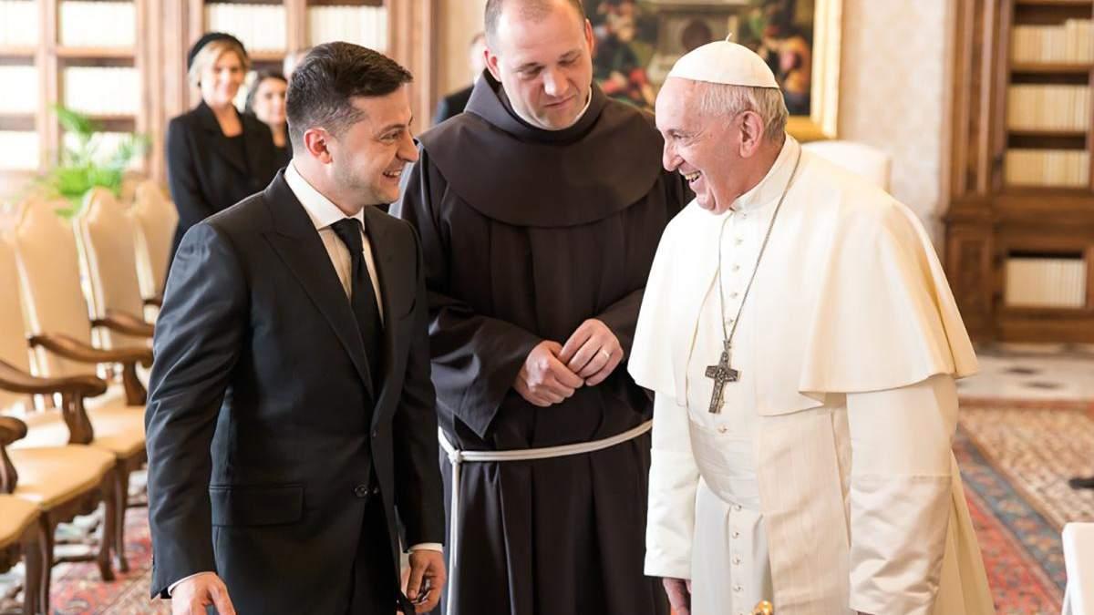 Зустріч Зеленського з Папою у Ватикані – фото, відео 08.02.2020