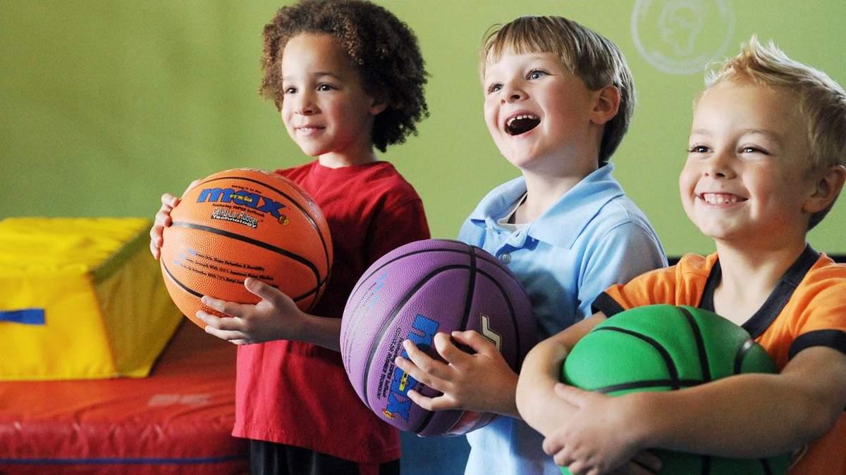 Заняття дітей спортом