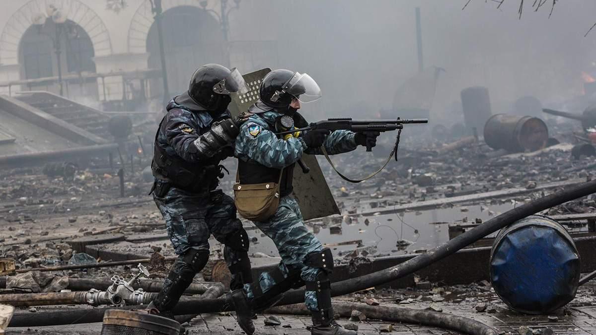 Беркут на Майдане - двое ексберкутивцив вернулись в Киев