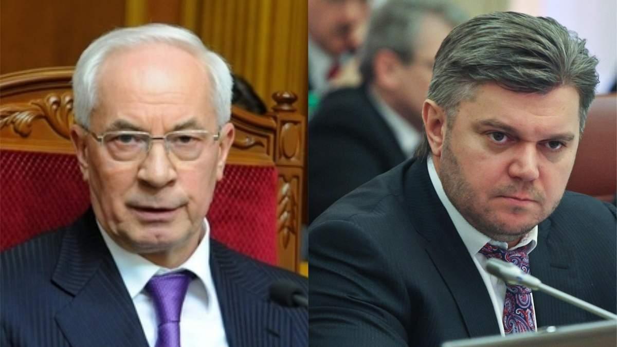 Европейские санкции против Азарова и Ставицкого отменят