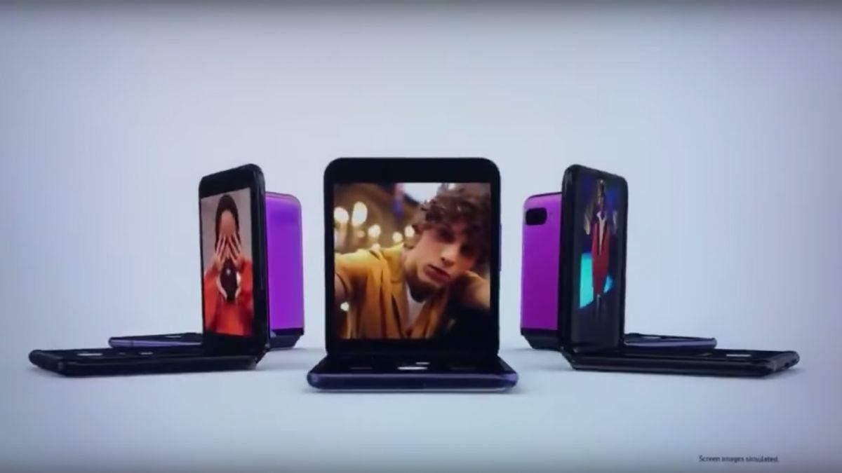 Samsung Galaxy Z Flip: фото, характеристики, ціна