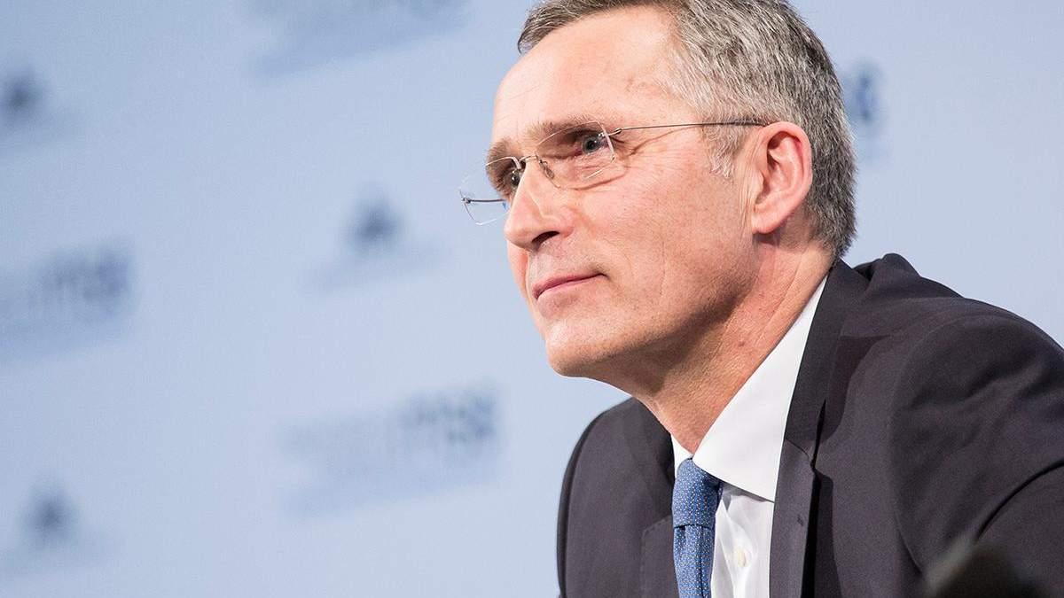Столтенберг розповів про відносини НАТО з Україною