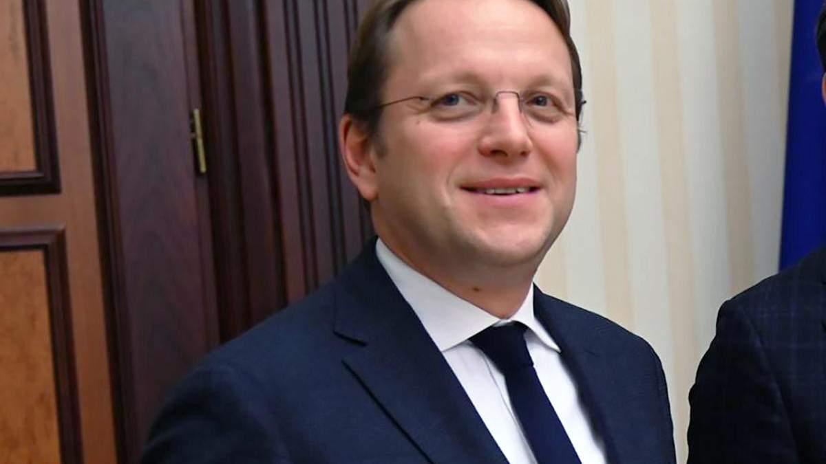 Єврокомісар Олівер Варгеї заявив, що наявність окупованих територій не є перешкодою для євроінтеграції України