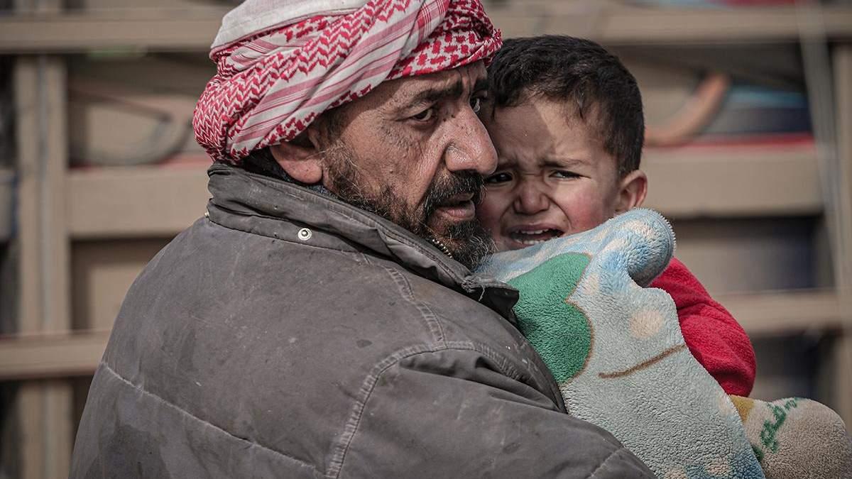 Война в Сирии - Россия и Асад нанесли авиаудары, погибли гражданские