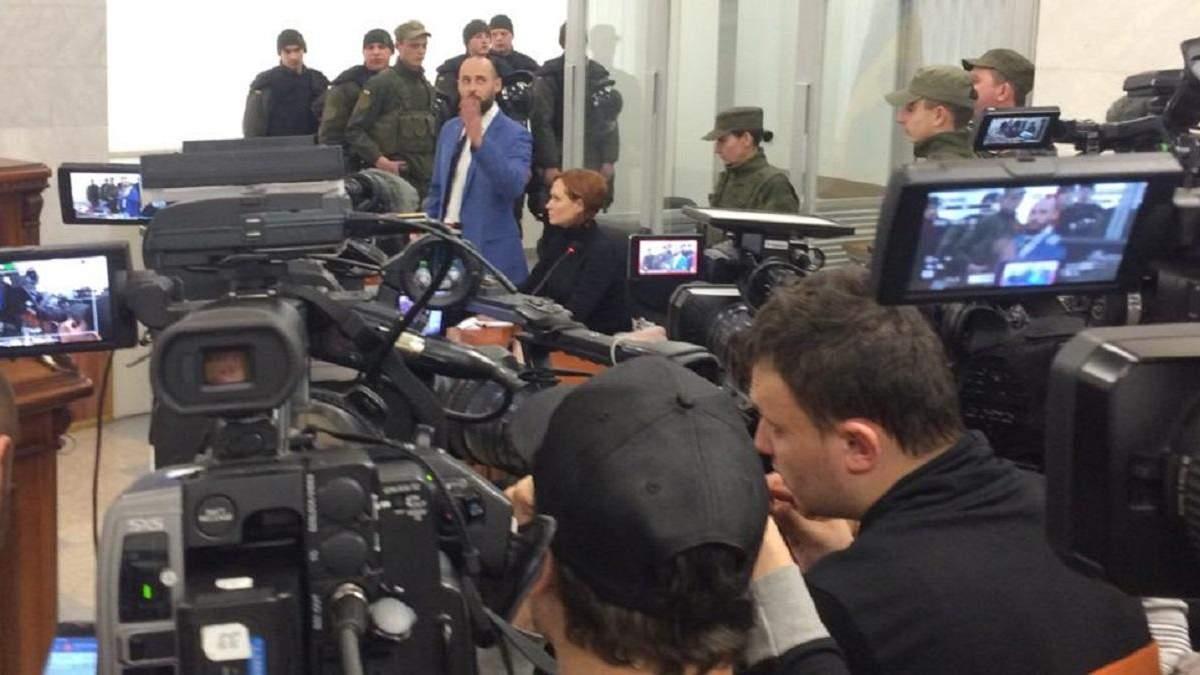 Апеляційний суд залишив Кузьменко під вартою