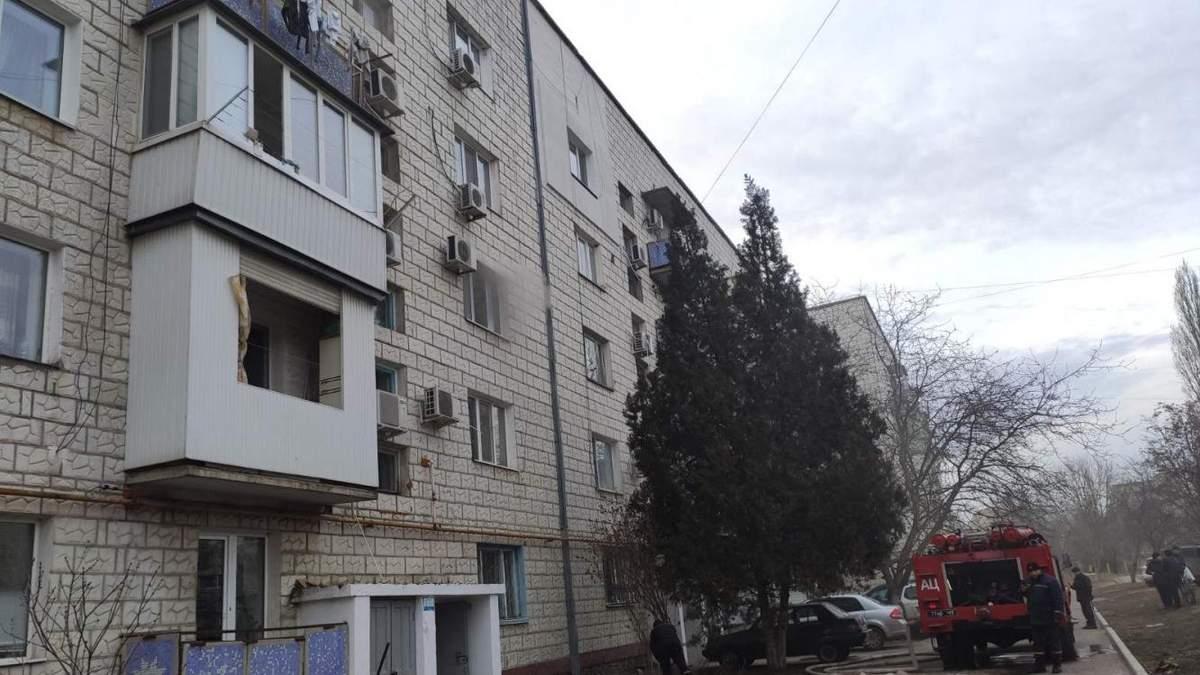 У Ізмаїлі на Одещині у п'ятиповерхівці пролунав вибух і сталася пожежа: ніхто не постраждав