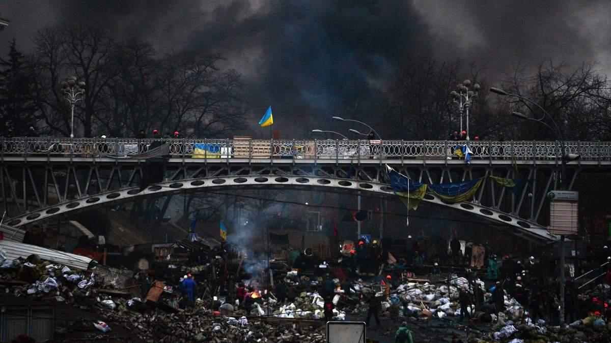 Ключевые даты Евромайдана: хроника