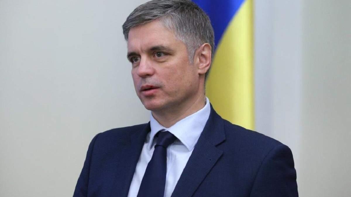 Пристайко: Контроль за границей на Донбассе могут осуществлять только украинские пограничники