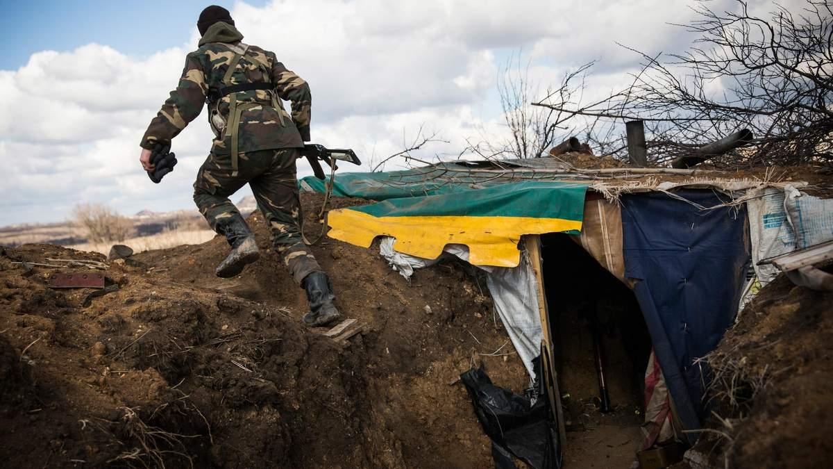 Обстріли на Донбасі 18 лютого 2020 - в мережі з'явилось відео бою в Золотому