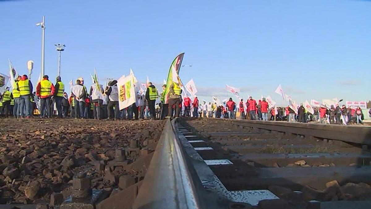 У Польщі шахтарі протестують проти вугілля з Росії: фото