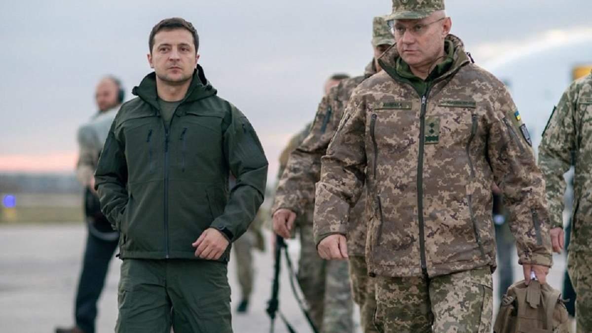 Владимир Зеленський и Руслан Хомчак