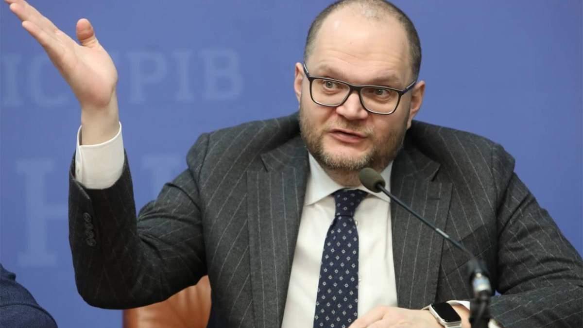 Бородянський оголосив конкурс на керівника телеканалу для окупованих територій