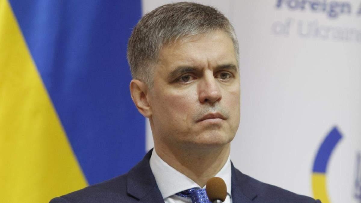 Пристайко закликав світ виділити гуманітарну допомогу Україні