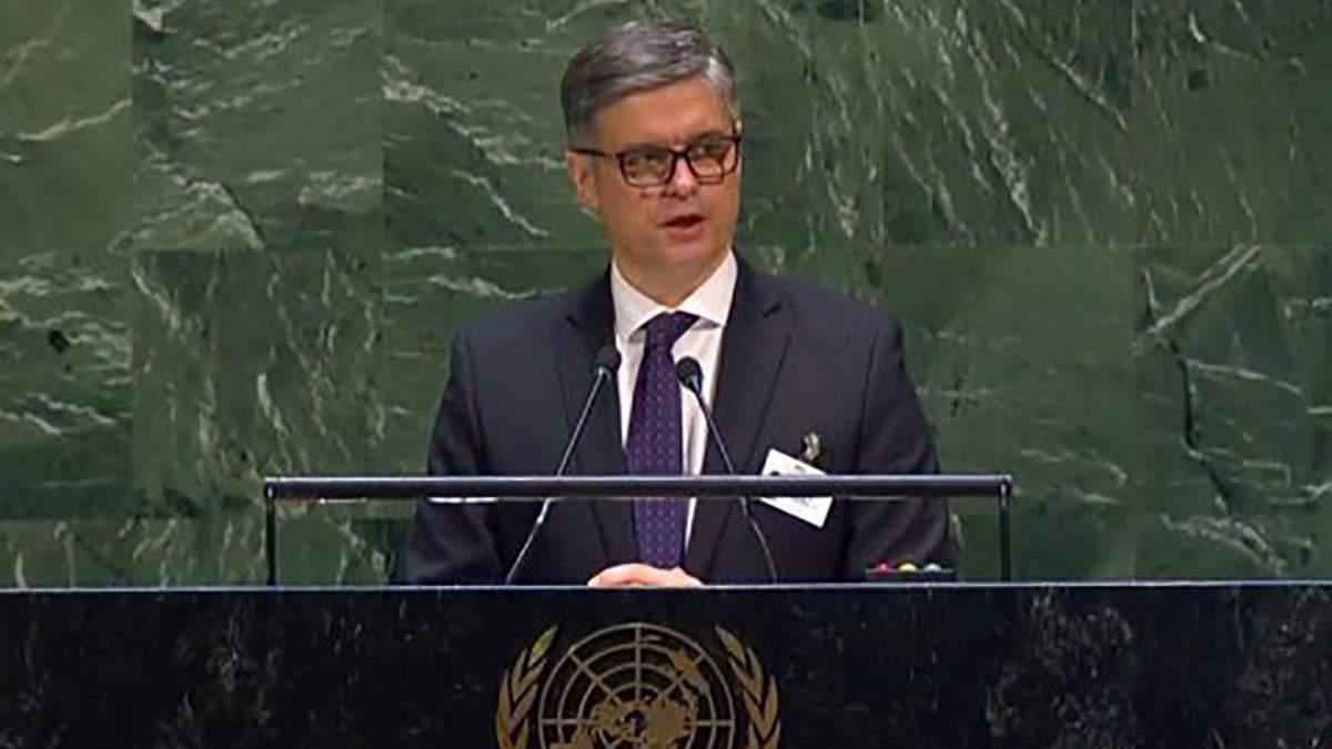Пристайко в ООН предложил разместить миротворцев на границе с Россией: что об этом известно